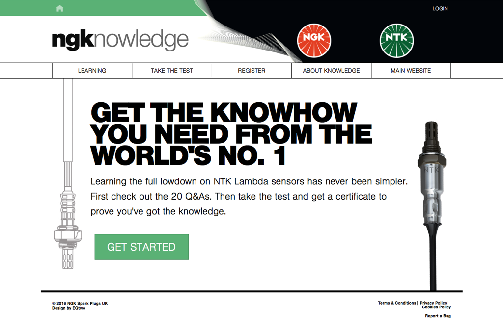 NGK Knowledge Homepage