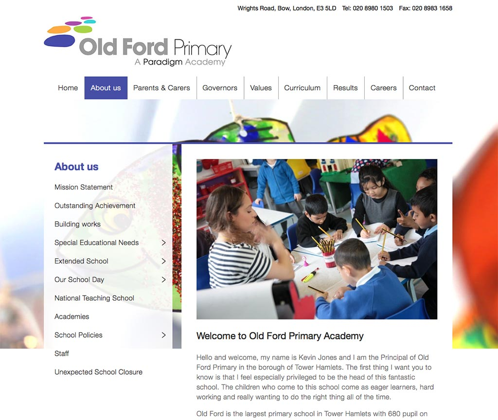 Old Ford Primary Academy