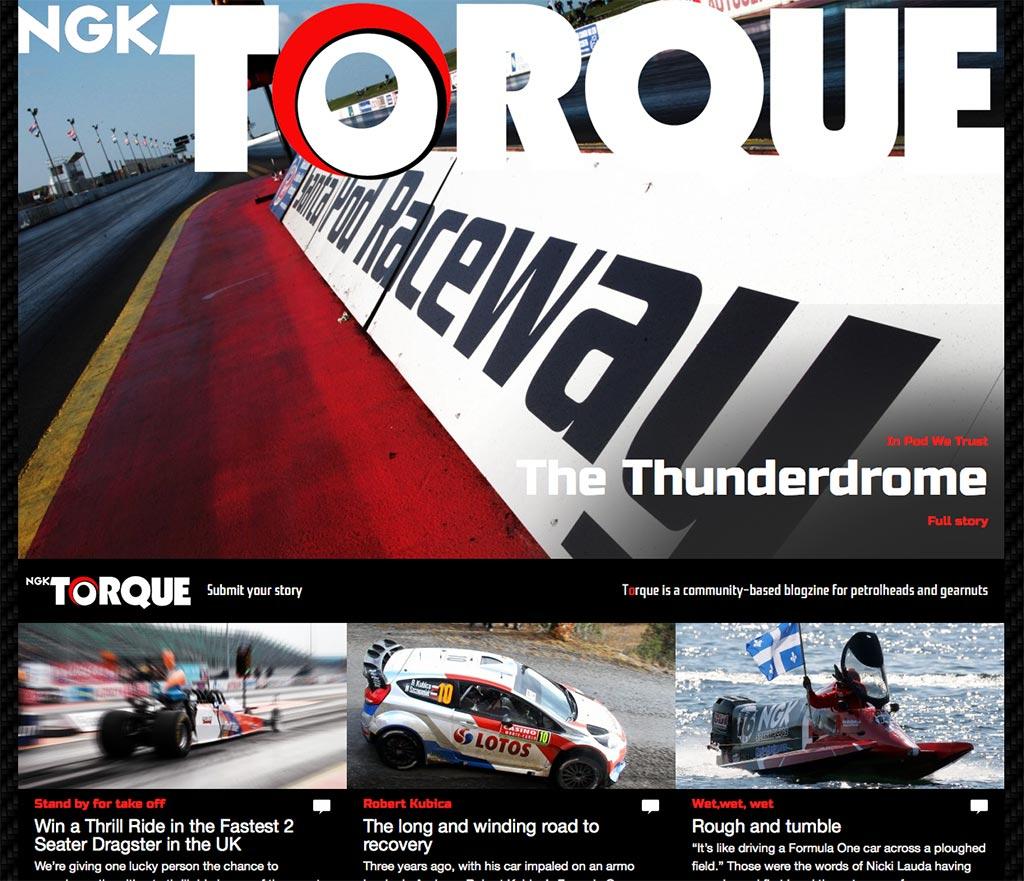 NGK Torque Homepage